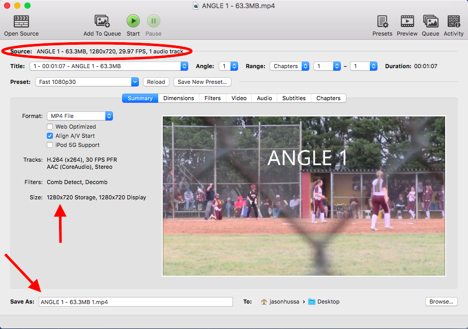 Encoding / Re-Encoding Video (and/or Wiping Audio) Using HANDBRAKE